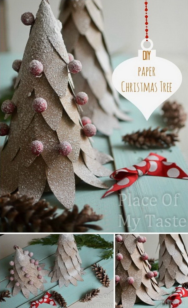 35 diy christmas decoration ideas for creative juice - Diy Christmas Decorations Ideas