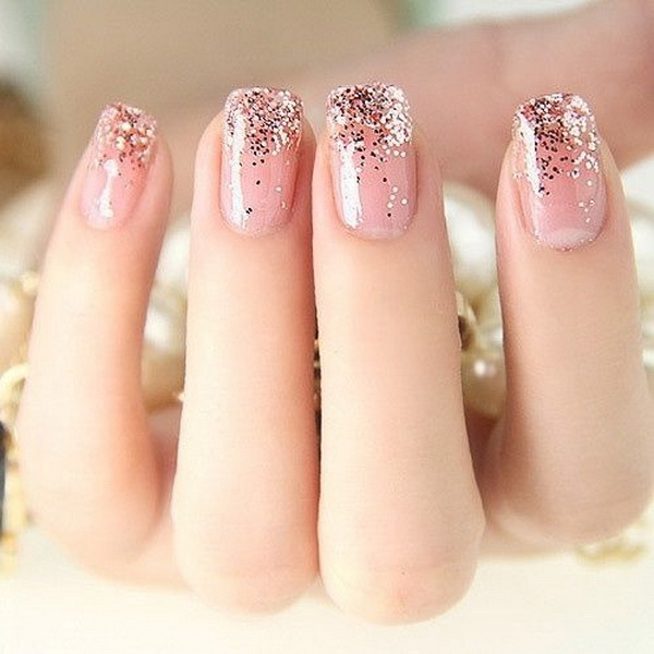 45 Pretty Pink Nail Art Designs - Light Pink Nail Designs Archives - For Creative Juice