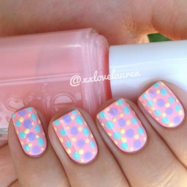 40 pretty polka dots nail designs for creative juice prinsesfo Gallery
