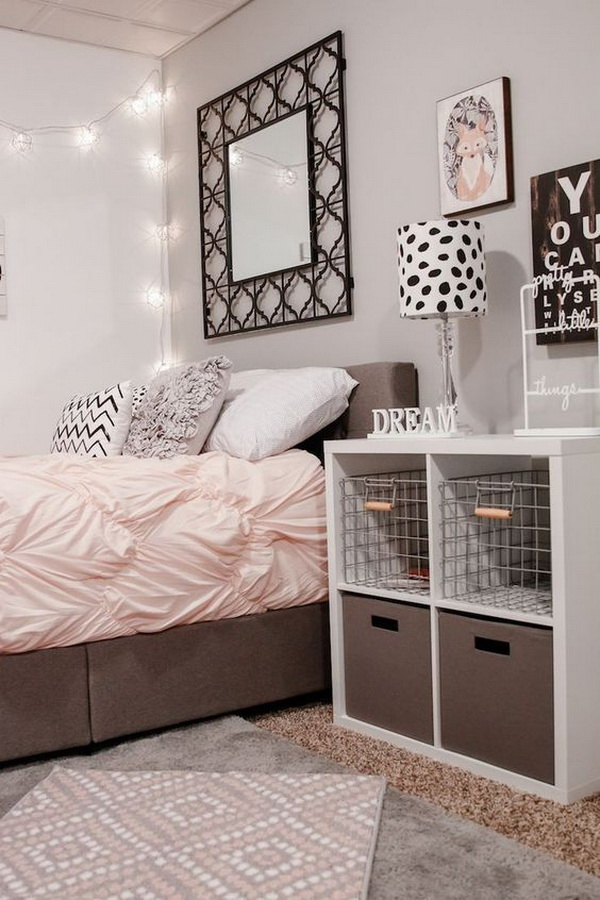 40 beautiful teenage girls bedroom designs for creative juice - Ideas Of Bedroom Decoration 2