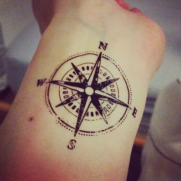 compass tattoos for men Archives - For Creative Juice