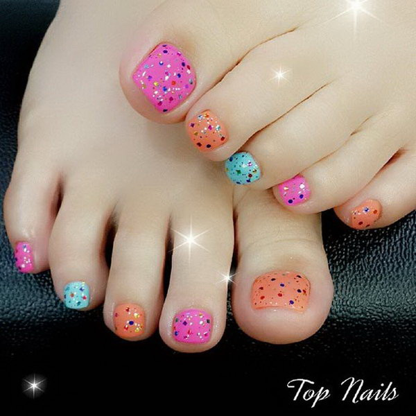 248 Creative Nail Art Designs For Girls Looking To Up: 50+ Pretty Toe Nail Art Ideas