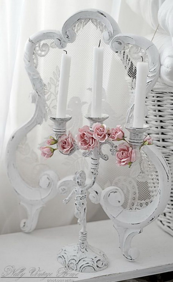 25 pretty shabby chic decoration ideas for creative juice for Photo shabby chic