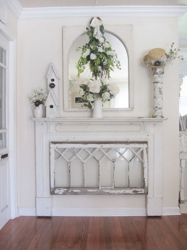 Sweet Cottage Shabby Chic Entryway Decor Ideas For