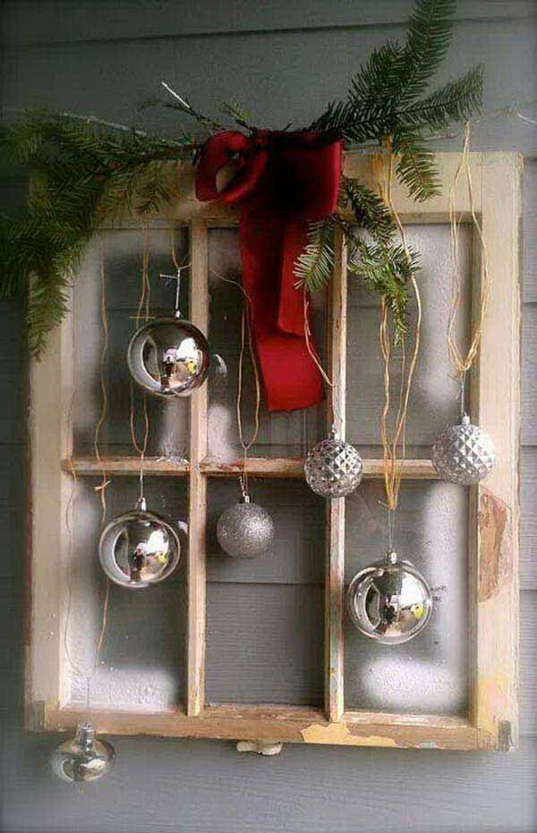 45 cool diy rustic christmas decoration ideas tutorials - Rustic Christmas Table Decorations