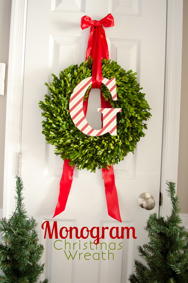30+ Festive DIY Christmas Wreaths With Lots Of Tutorials   For Creative  Juice