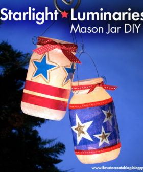 DIY Patriotic Crafts for 4th of July Decoration