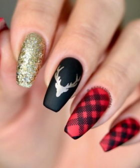 65+ Best Christmas Nail Art Ideas for 2020
