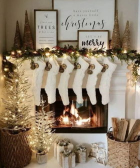 35+ Festive Christmas Mantel Decoration Ideas