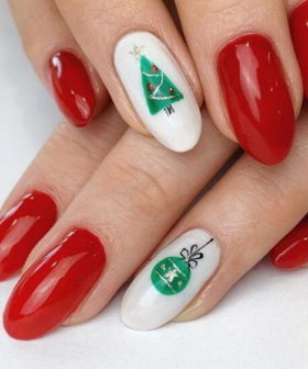 50+ Joyful Christmas Nail Designs