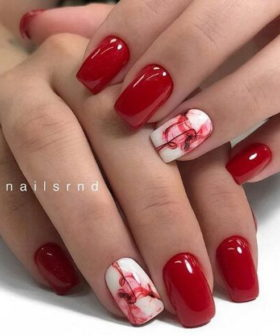 50+ Best Red Nail Art Designs