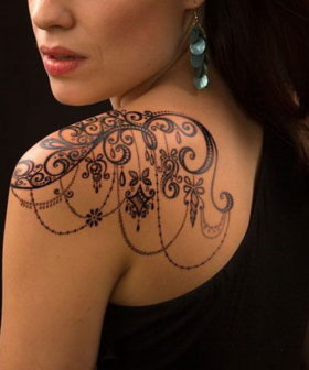 45+ Awesome Shoulder Tattoo Designs