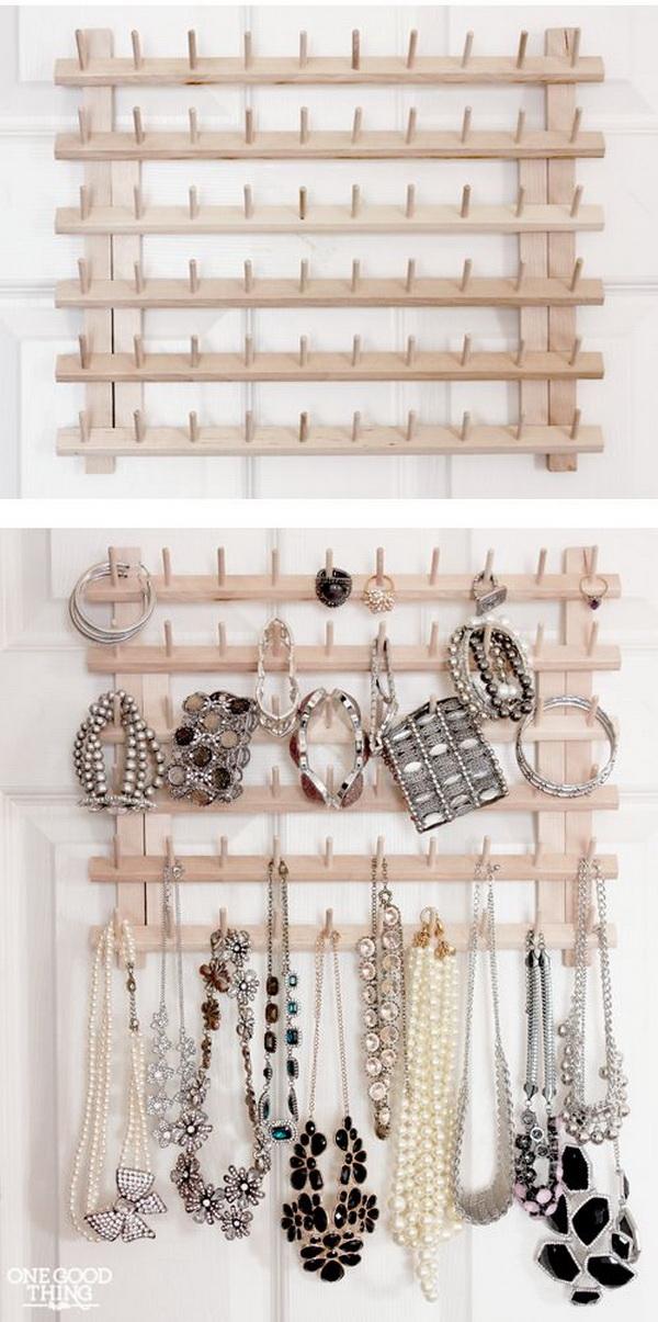 30 Brilliant Diy Jewelry Storage Display Ideas For Creative Juice