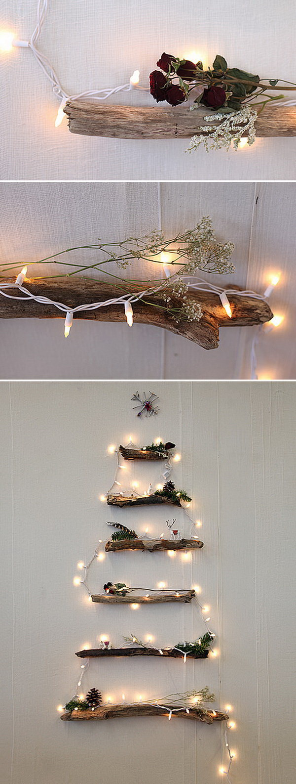 45 Cool Diy Rustic Christmas Decoration Ideas Tutorials For Creative Juice