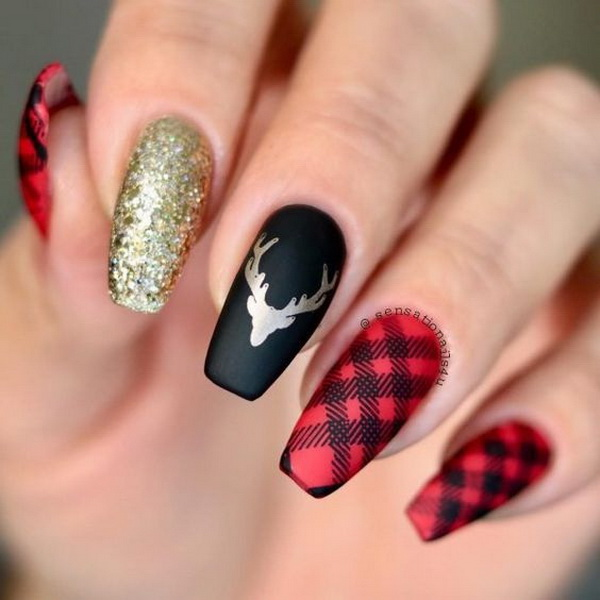 65 Best Christmas Nail Art Ideas For 2020 For Creative Juice