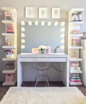 35+ Beautiful Makeup Vanity Ideas